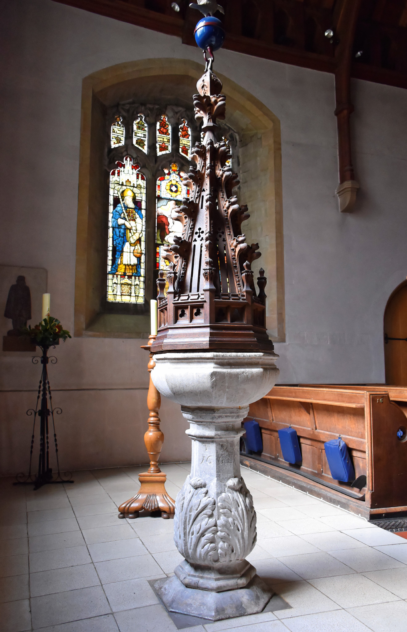 South Weald - St Peter Font