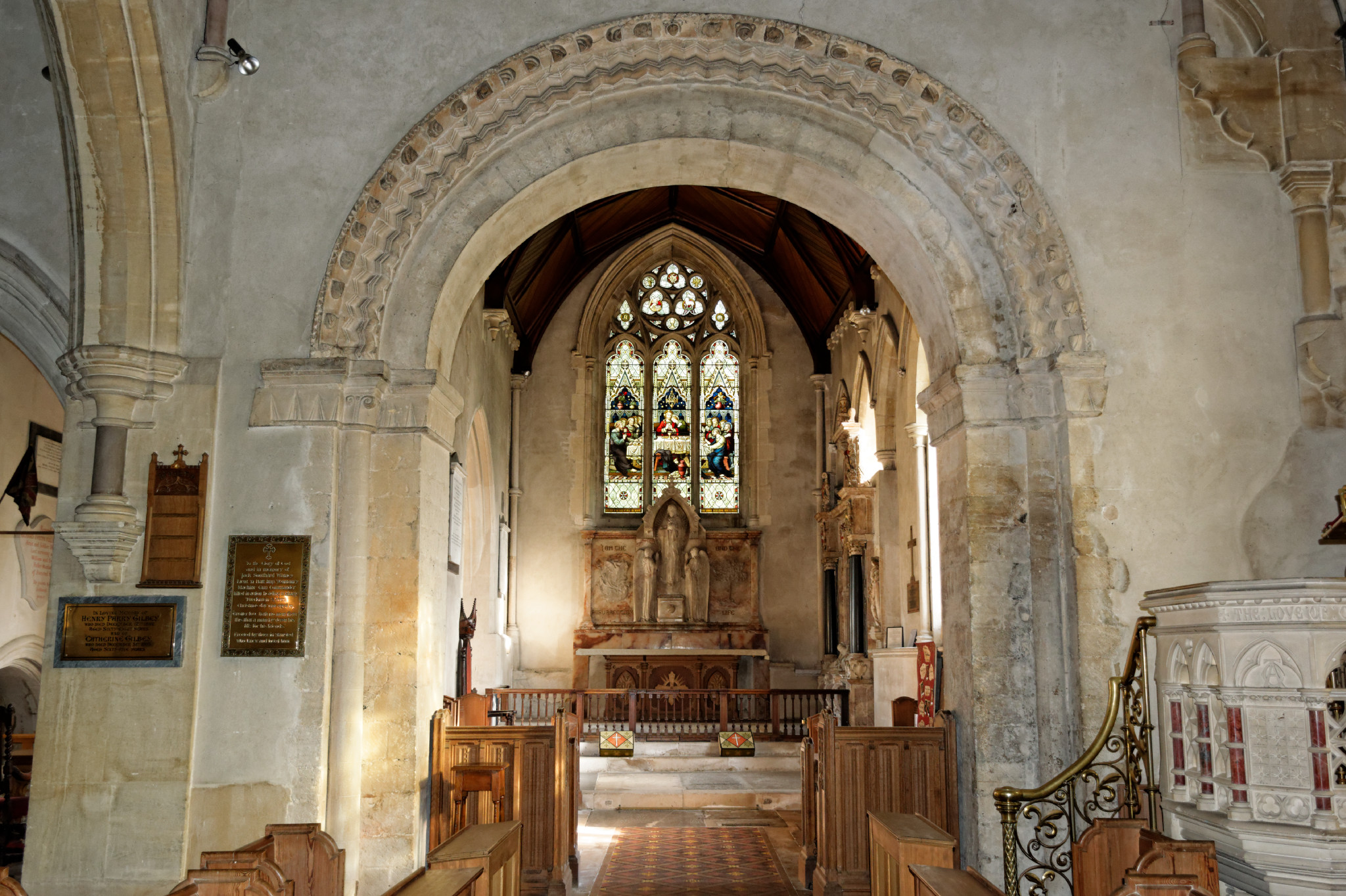 Stansted Mountfitchet - St Mary Interior