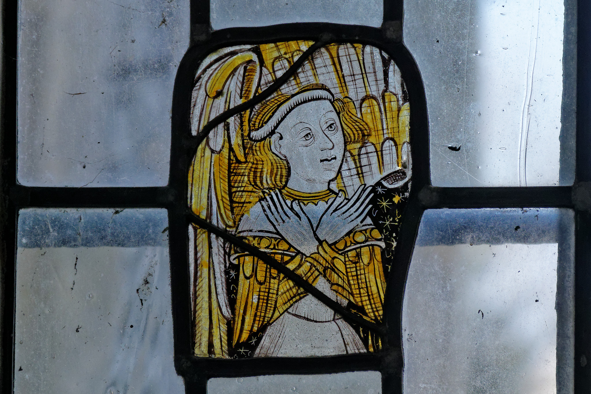 Wendens Ambo - St Mary - Medieval Glass 3