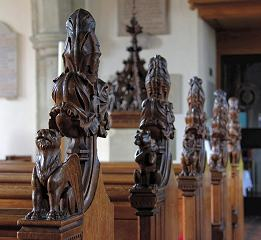 Pew Carvings - Danbury