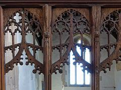 Rood Screen, Wendens Ambo